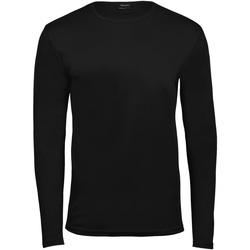 Textil Homem T-shirt mangas compridas Tee Jays TJ530 Preto