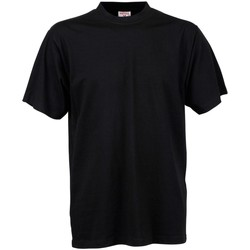 Textil Homem T-Shirt mangas curtas Tee Jays TJ8000 Preto