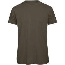 Textil Homem T-Shirt mangas curtas B And C TM042 Khaki