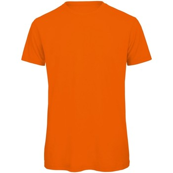 Textil Homem T-Shirt mangas curtas B And C TM042 Orange