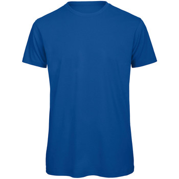 Textil Homem T-Shirt mangas curtas B And C TM042 Real