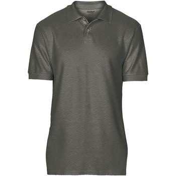 Textil Homem Polos mangas curta Gildan 64800 Carvão vegetal