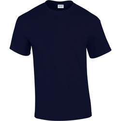Textil Homem T-Shirt mangas curtas Gildan Ultra Marinha