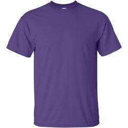 Textil Homem T-Shirt mangas curtas Gildan Ultra Púrpura