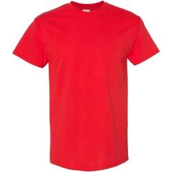 Textil Homem T-Shirt mangas curtas Gildan Heavy Vermelho