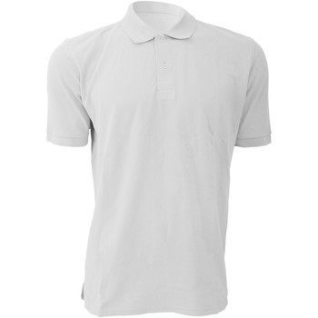 Textil Homem Polos mangas curta Russell 569M Branco