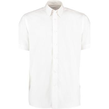 Textil Homem Camisas mangas curtas Kustom Kit KK100 Branco