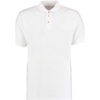 Textil Homem Polos mangas curta Kustom Kit KK400 Branco