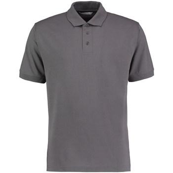Textil Homem Polos mangas curta Kustom Kit KK403 Carvão vegetal