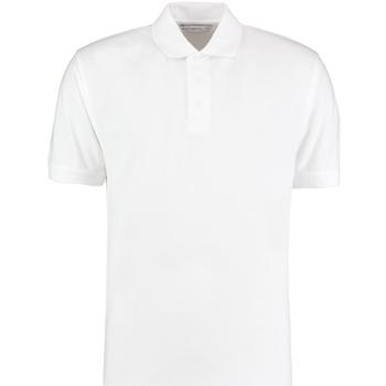 Textil Homem Polos mangas curta Kustom Kit KK403 Branco