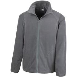 Textil Homem Casaco polar Result R114X Carvão vegetal