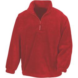 Textil Homem Casaco polar Result R33X Vermelho