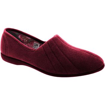 Sapatos Mulher Chinelos Gbs  Borgonha