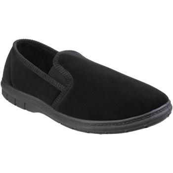 Sapatos Homem Chinelos Fleet & Foster  Preto