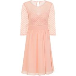 Textil Mulher Vestidos curtos Little Mistress  Pink