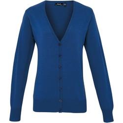 Textil Mulher Casacos de malha Premier Button Through Real