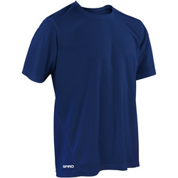 Textil Homem T-Shirt mangas curtas Spiro S253M Marinha