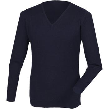 Textil Homem camisolas Henbury HB760 Marinha