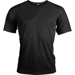 Textil Homem T-Shirt mangas curtas Kariban Proact PA438 Preto