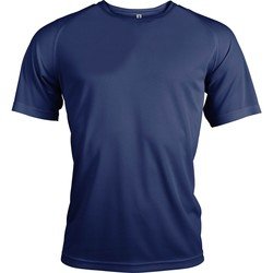 Textil Homem T-Shirt mangas curtas Kariban Proact PA438 Marinha