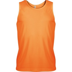 Textil Homem Tops sem mangas Kariban Proact PA441 Orange