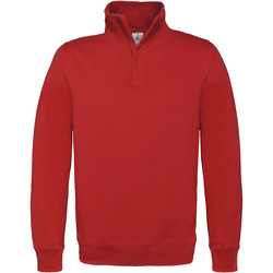 Textil Homem Casaco polar B And C ID.004 Vermelho