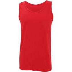 Textil Homem Tops sem mangas Gildan 64200 Vermelho
