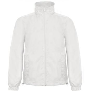 Textil Homem Corta vento B And C ID.601 Branco