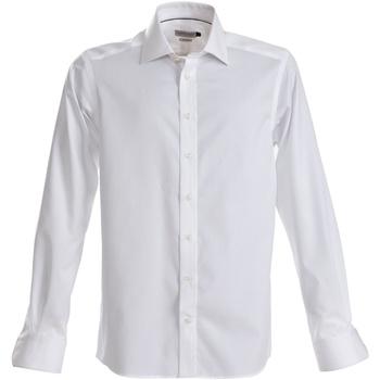 Textil Homem Camisas mangas comprida J Harvest & Frost JF001 Branco