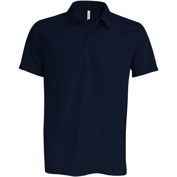 Textil Homem Polos mangas curta Kariban Proact PA482 Marinha