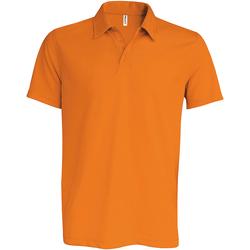 Textil Homem Polos mangas curta Kariban Proact PA482 Orange