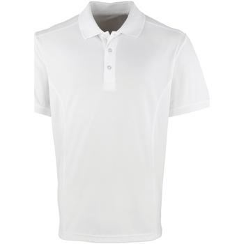 Textil Homem Polos mangas curta Premier PR615 Branco