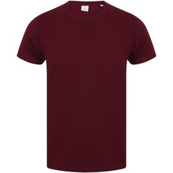 Textil Homem T-Shirt mangas curtas Skinni Fit SF121 Borgonha
