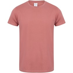 Textil Homem T-Shirt mangas curtas Skinni Fit SF121 Barro