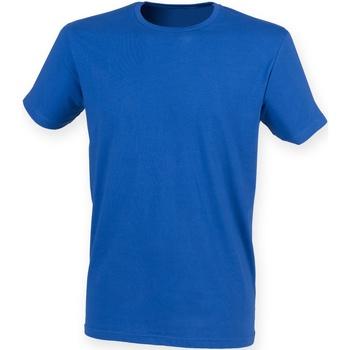 Textil Homem T-Shirt mangas curtas Skinni Fit SF121 Real