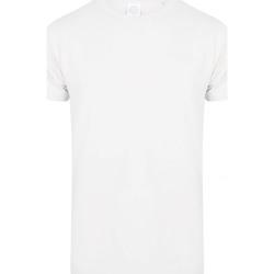 Textil Homem T-Shirt mangas curtas Skinni Fit SF122 Branco