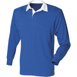 Textil Homem Polos mangas compridas Front Row Rugby Real