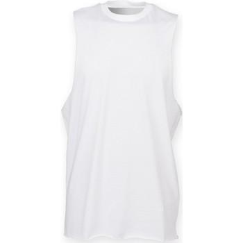 Textil Homem Tops sem mangas Skinni Fit SF232 Branco