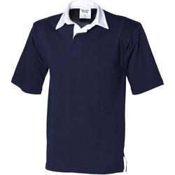 Textil Homem Polos mangas curta Front Row FR03M Marinha