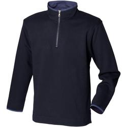 Textil Homem Casaco polar Front Row Soft Touch Marinha