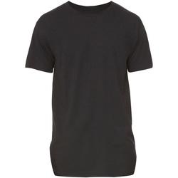 Textil Homem T-Shirt mangas curtas Bella + Canvas Long Body Preto