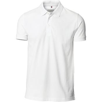 Textil Homem Polos mangas curta Nimbus NB52M Branco