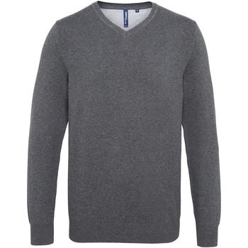 Textil Homem camisolas Asquith & Fox AQ042 Carvão vegetal