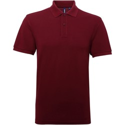 Textil Homem Polos mangas curta Asquith & Fox AQ015 Borgonha