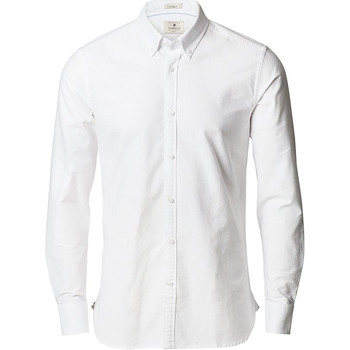 Textil Homem Camisas mangas comprida Nimbus NB66 Branco