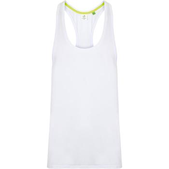 Textil Homem Tops sem mangas Tombo TL504 Branco