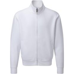 Textil Homem Casacos fato de treino Russell J267M Branco