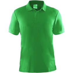 Textil Homem Polos mangas curta Craft CT045 Verde