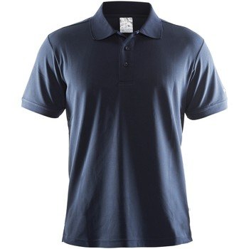 Textil Homem Polos mangas curta Craft CT045 Marinha