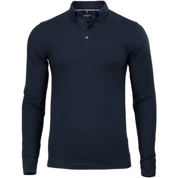 Textil Homem Polos mangas compridas Nimbus NB71M Marinha